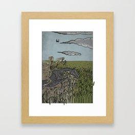 Scarcity on Earth Framed Art Print