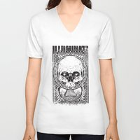 illuminati V-neck T-shirts featuring Illuminati by Tshirt-Factory