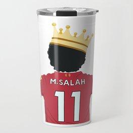 Mo Salah Egyptian King Liverpool Travel Mug