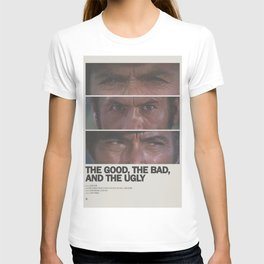 The Good, the Bad, and the Ugly Minimal Movie Poster No 01 T-shirt