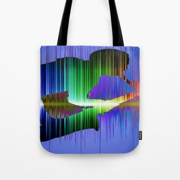 The saxophone player 02 Tote Bag