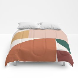 Abstract Geometric 10 Comforters
