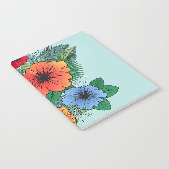 Hawaiian Flowers Notebook