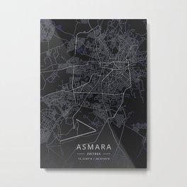 Asmara Eritrea Metal Print