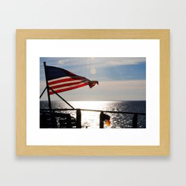 One Nation Framed Art Print