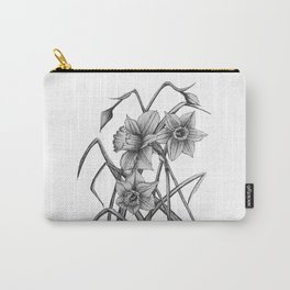 Daffodil Sketch Carry-All Pouch
