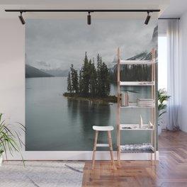 Beautiful Maligne Lake Wall Mural