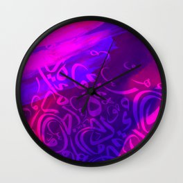 Arabic Calligraphy Art Wall Clock