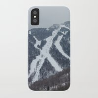vermont iPhone & iPod Cases featuring Killington Vermont by BACK to THE ROOTS