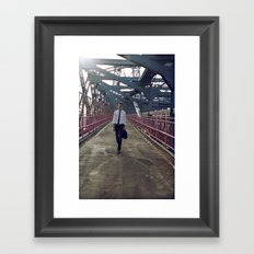 Summer in NYC pt.3 Framed Art Print