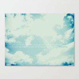 Simple Canvas Print