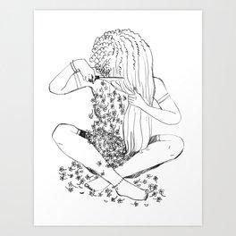 BIG CHOP Art Print