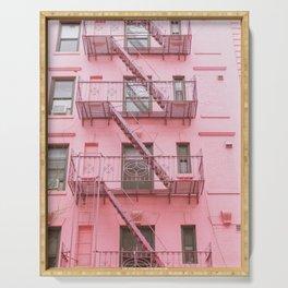 Pink Soho NYC Serving Tray