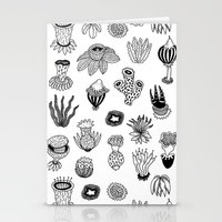 plants Stationery Cards featuring Plants by Yvonne Keesman
