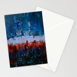 Blue and Orange Stationery Cards
