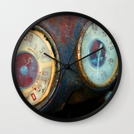Old Speed Wall Clock
