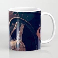 Vintage Blue Car Mug