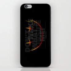 don't wake what's inside me! iPhone & iPod Skin