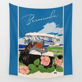 Romantic Bermuda travel Wall Tapestry