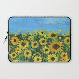 Sunflower Field Laptop Sleeve