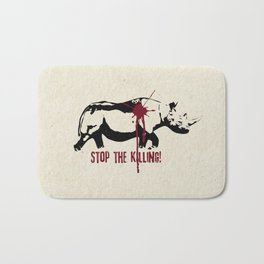 Stop the Killing! Bath Mat