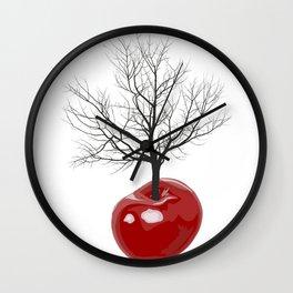 Cherry tree of cherries Wall Clock
