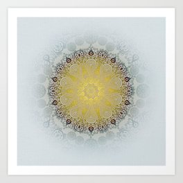 Mandala Love Art Print
