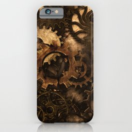 Gear Changer - Steampunk Gears and Cogs iPhone Case