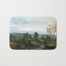 Asher Brown Durand A View of the Valley Bath Mat