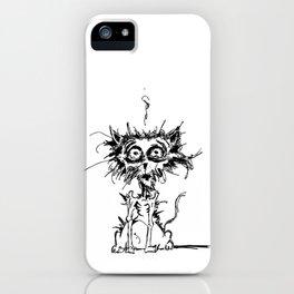 Angst Cat iPhone Case