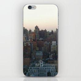 city skyline iPhone Skin