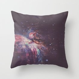 Different Things & Strange Places Throw Pillow