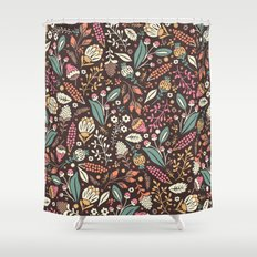 Sweet Flowers Shower Curtain