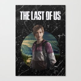 Ellie The last of Us Inspo Canvas Print