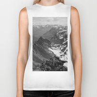 jon snow Biker Tanks featuring Archangel Valley by Kevin Russ