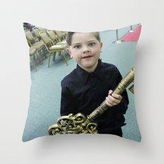 Key Throw Pillow