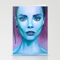 cara Stationery Cards featuring Cara by Stella Joy
