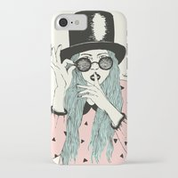 hat iPhone & iPod Cases featuring  ''Hat'' by Indi Maverick