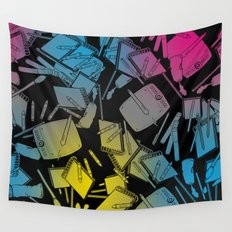 CMYK Wall Tapestry