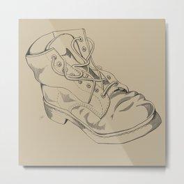 Art Study (the boot part 2) Metal Print