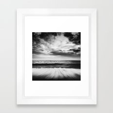 Into the sea Framed Art Print