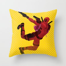 Who said chimichanga Throw Pillow