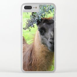 Llama Clear iPhone Case