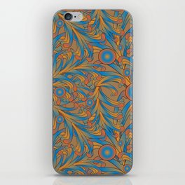 psychedelic Art Nouveau  iPhone Skin