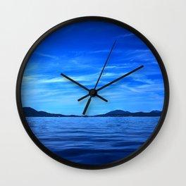 Ionian sea Wall Clock