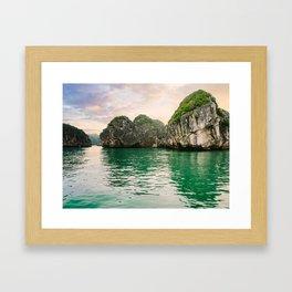 Halong Bay Vietnam Framed Art Print