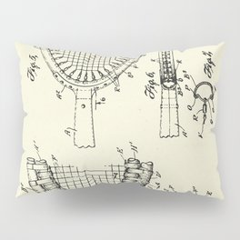 Tennis Racket-1925 Pillow Sham