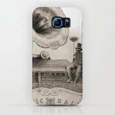 The Chimney Sweep (Monochrome) Slim Case Galaxy S7