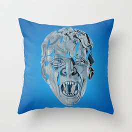 Don't blink weeping angel Throw Pillow