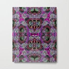 Ridged Patterns 4 A Metal Print